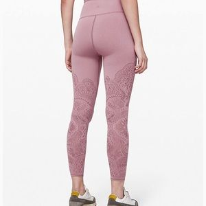 "Lululemon Reveal 25"" Tights Zen Expressions"